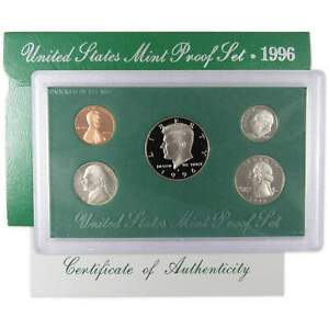 1996-S-U-S-Mint-Proof-Set