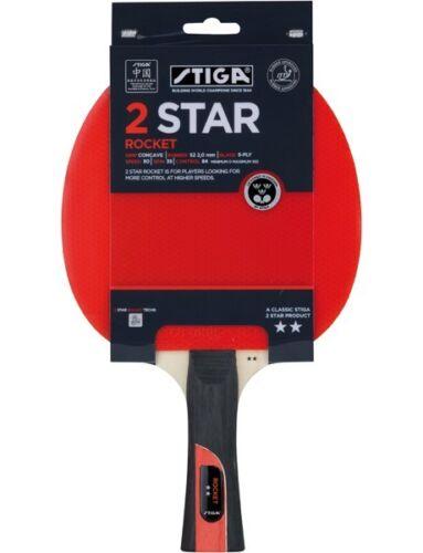Table Tennis Bat Stiga 2 Star Rocket Bat