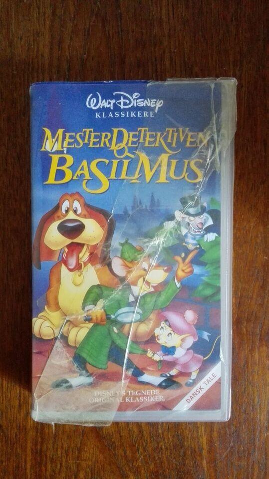Tegnefilm, 8 VHS tegnefilm