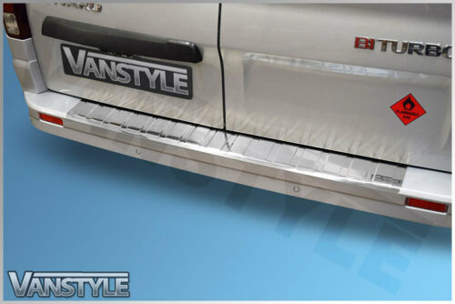 Chrome Rear Bumper Protector S.Steel For NISSAN NV300 2016-UP
