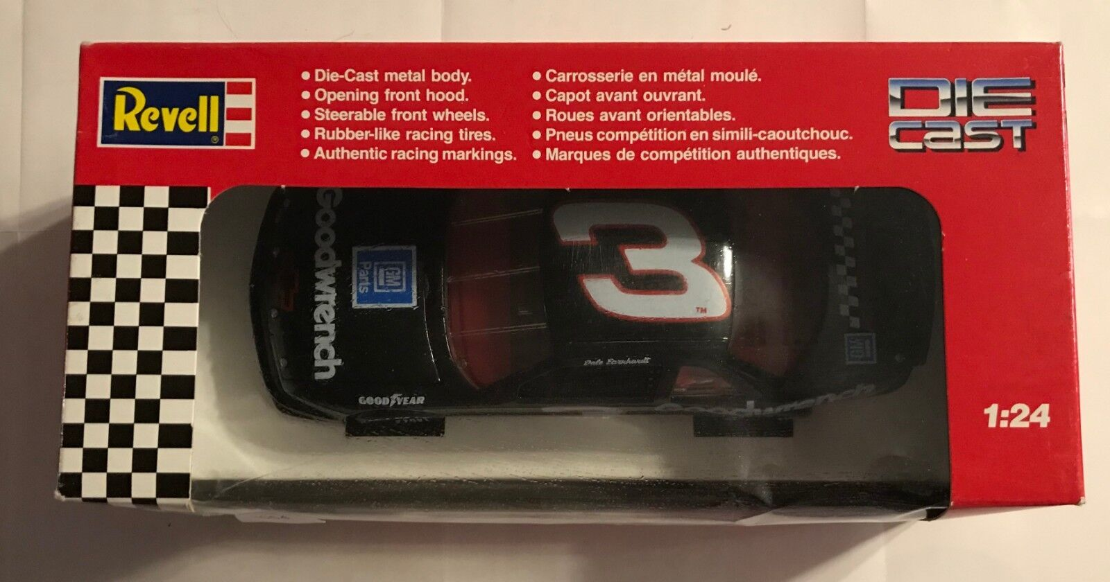 1991 REVELL   3 DALE EARNHARDT 1 24TH 24TH 24TH SCALE GM GOODWRENCH PARTS   3054 3de73e