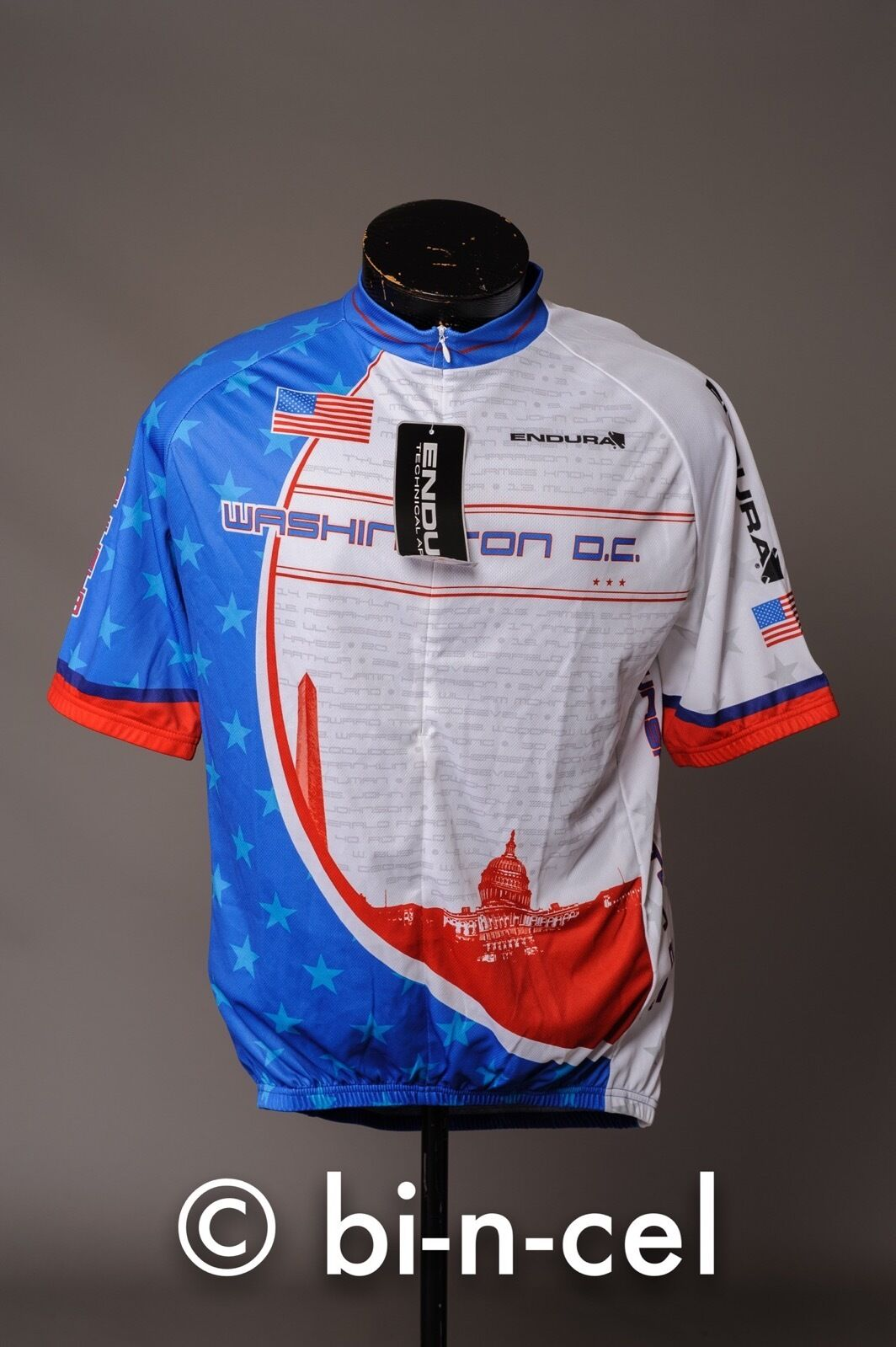 NWT ENDURA WASHINGTON DC XL ROAD MOUNTAIN CYCLING JERSEY  MSRP  80.00  there are more brands of high-quality goods