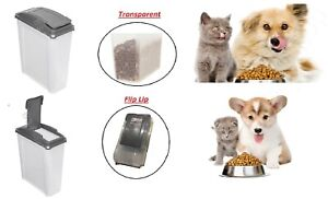 25L-Pet-Food-Container-Bin-Dog-Cat-Animal-DRY-Feed-Bird-Seed-Plastic-Storage-Box
