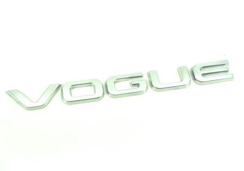 Autobiography Véritable Neuf Style Range Rover Vogue Coffre Badge Emblème 2013