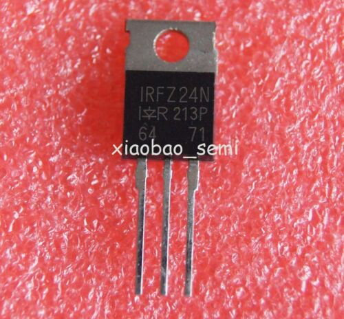 50pcs New IRFZ24N TO-220 P-Channel Power MOSFET