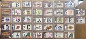 2011-TOPPS-COMMEMORATIVE-37-CARD-LOT-PATCH-LEATHER-NAMEPLATE-KERSHAW-HOFers
