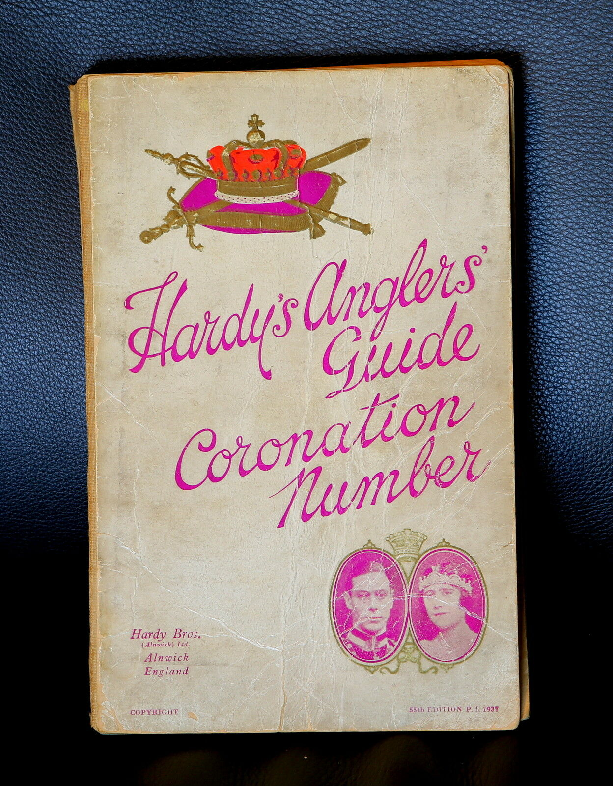 Nice HARDY's ANGLERS' GUIDE (catalogue)  - THE CgoldNATION NUMBER 1937 - good