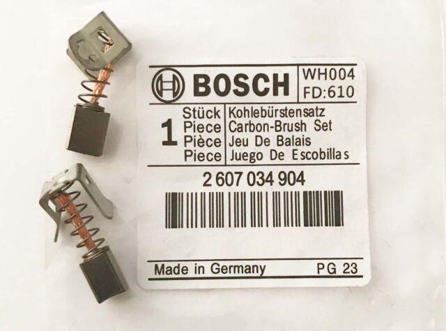 Genuine Bosch Carbon Brushes for 36V GSB & GSR Drills BS9G