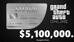 gta v xbox one megalodon shark card