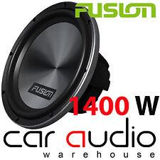 """FUSION PF-SW100D2 Dual 2 Ohm 10"""" Inch 1400 Watt Car Sub Subwoofer Bass Woofer"""