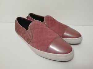 celebracion Inconveniencia torpe  Geox Respira N.Club C Old Rose / Pink Women Slip On Quilted Loafers UK 7 /  7.5 | eBay