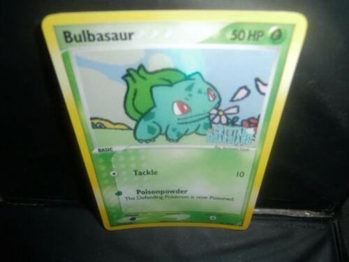 Pokemon  BULBASAUR HP50  45//100 2006 STAMPED CRYSTAL QUARDIANS HOLOFOIL  MINT