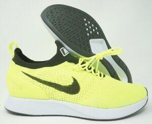 abc1b371f7d9 Nike Air Zoom Mariah Flyknit Racer Mens Running Shoes Volt White ...