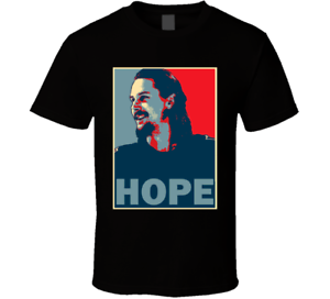huge discount 70310 ad8d7 Details about Erik Karlsson San Jose Hockey Fan Trade Hope T Shirt