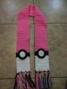 Crochet Pokemon Yellow Pikachu Scarf - Adult or Childs - Made to ... | 300x225