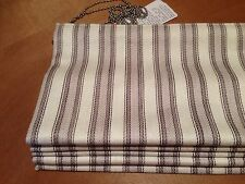 Clarke & Clarke Moses Pebble F0534/03 Striped Roman Blind,All 3 Cols Available