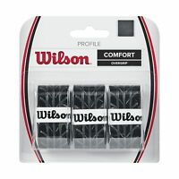 Wilson Profile Tennis Racquet Over Grip Black Free Shipping