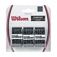 Wilson Profile Tennis Racquet Over Grip Black Free Shipping