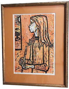 IRVING-AMEN-AMERICAN-1918-2011-034-MAGIC-FLUTE-034-COLOR-LITHOGRAPH-ARTIST-039-S-PROOF