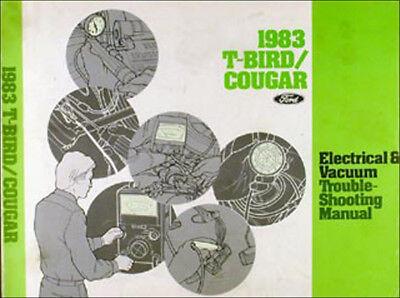 1971 Ford Thunderbird Factory Foldout Wiring Diagram 71 Tbird T Bird Original