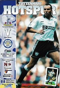 Football ProgrammegtTOTTENHAM HOTSPUR v LEEDS UNITED Mar 1997 - <span itemprop=availableAtOrFrom>Swindon, United Kingdom</span> - Returns accepted Most purchases from business sellers are protected by the Consumer Contract Regulations 2013 which give you the right to cancel the purchase within 14 days after the day  - Swindon, United Kingdom