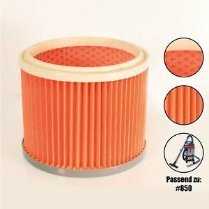 Kartuschenfilter NTS 20L 1200W Lamellenfilter Ersatzfilter Staub Filter Sauger