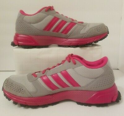 Athletic Running Shoes. Pink/Gray