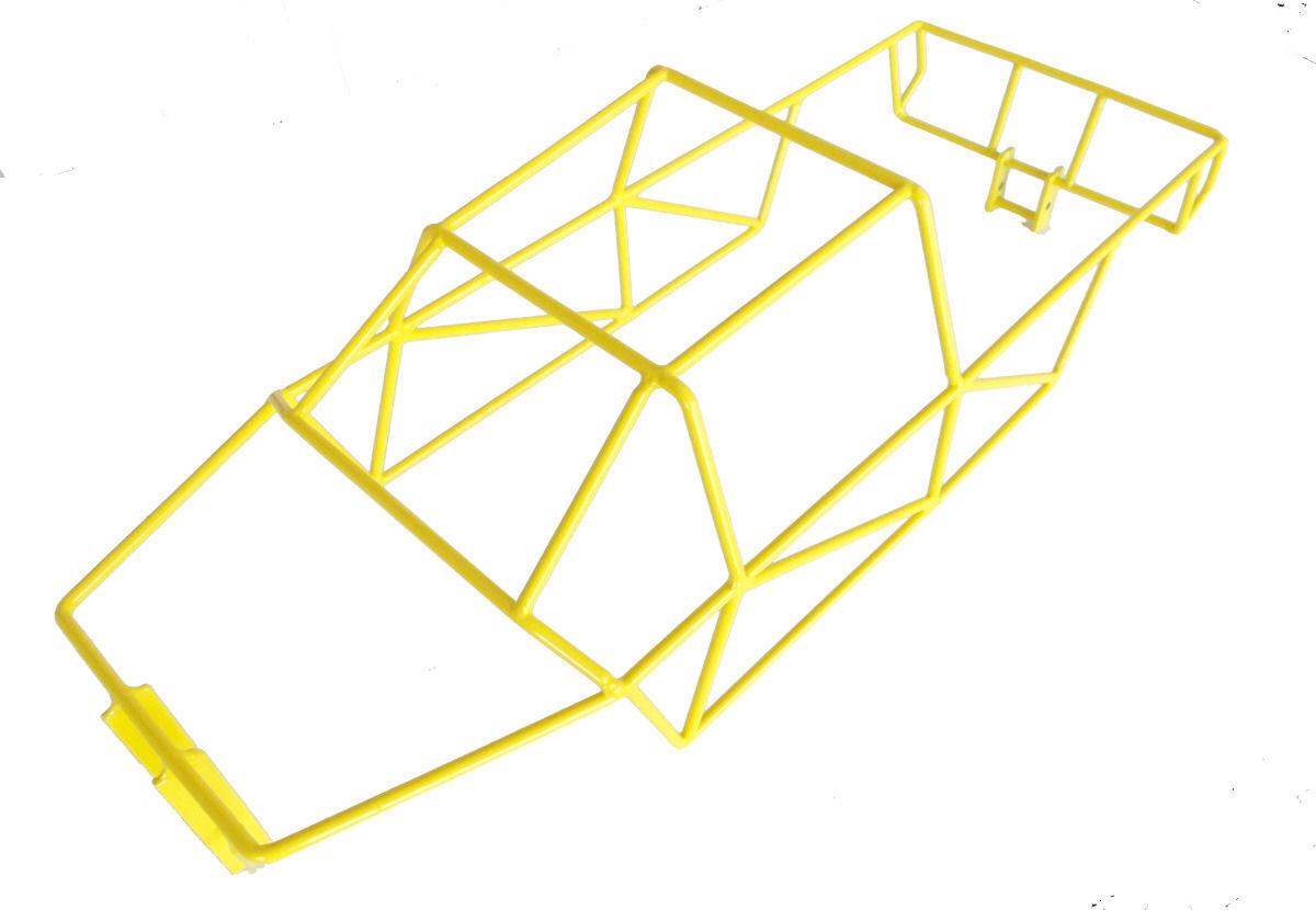 TRAXXAS T-Maxx 4908 4907 giallo Full Roll Cage R C Raven NIP  - LAST ONE -