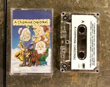 A Chipmunk Christmas: Alvin, Simon, Theodore Holiday Music Cassette Tape - 1996