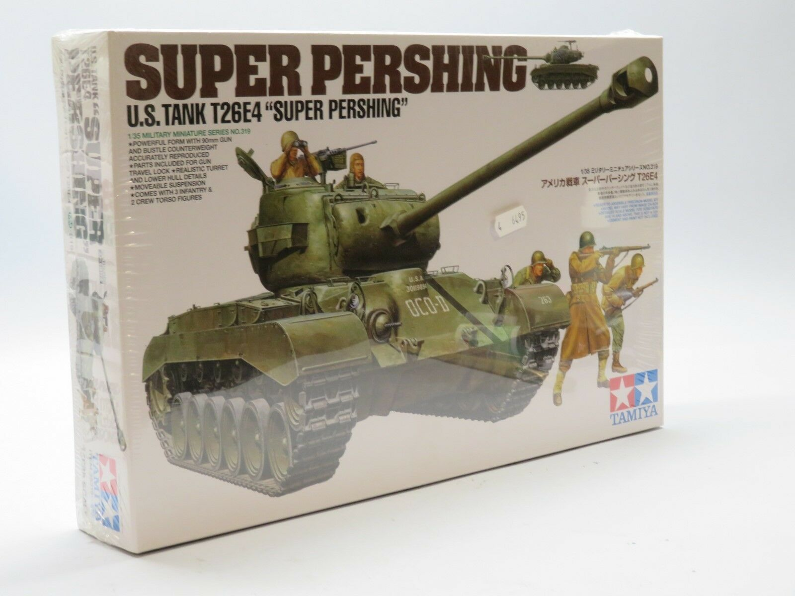 Tamiya 35319  35 T26E4 Super Pershing
