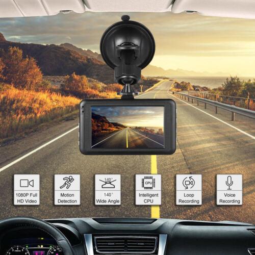 50HZ//60HZ 140° HD Car Dash Cam Windshield DVR Camera Voice Recorder NightVision