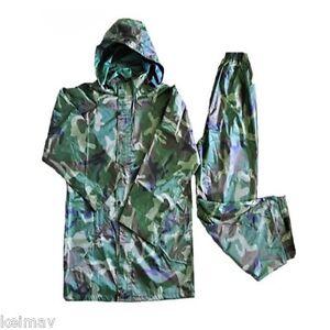 Adult Raincoat and Pants (Camouflage)