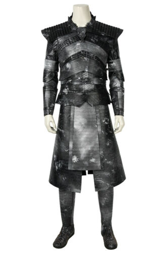 Game of Thrones 8 Costume Night/'s King Cosplay Halloween The White Walker Outfit