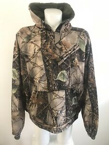 Buffalo-Outdoors-Hoodie-Sweatshirt-Men-s-3XL-Burly-Camo-Tan