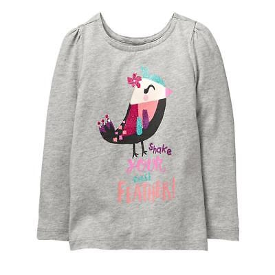 NWT Gymboree Girl Woodland Weekend Heather Grey Fox Sweater Dress 2T 3T 4T 5T
