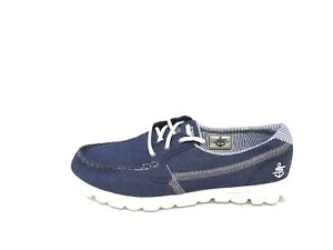 New-Women-039-s-SKECHERS-ON-THE-GO-SEACOAST-14275-Blue-9F-am