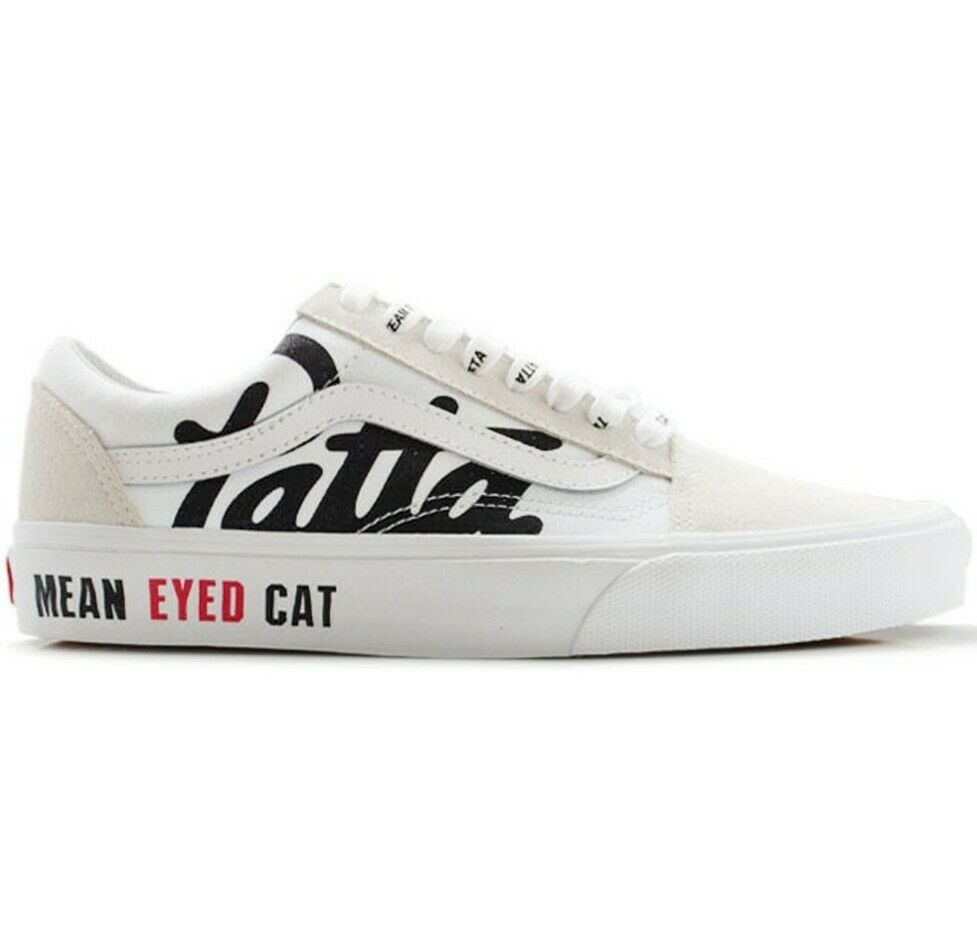 Vans old skool patta Size 11.5,mean eyed cat,air,off,diamond,supreme,limited,
