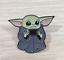 The-Mandalorian-Baby-Yoda-Enamel-Pin-Star-Wars-Lapel-Pin thumbnail 1