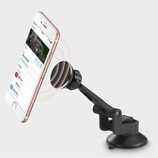 2 in 1 360° Magnetic Car Suction Cup Dashboard Mount Holder Stand For Cellphone