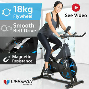 Commercial Spin Bike Lifespan Sm400 Exercise Fitness Home Gym Quiet Bicycle Ebay
