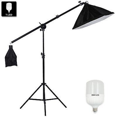 fotolampe fotostudio set softbox beleuchtung 280w led galgenstativ lampenstativ selber machen basteln