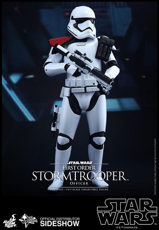 12  Star Wars Stormtrooper oficial de primer orden Hot Toys 902603 En Stock