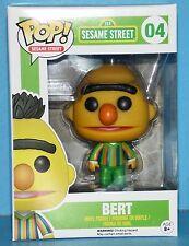 FUNKO MIB # 04 SESAME STREET BERT Pop! Vinyl Figure AWESOME