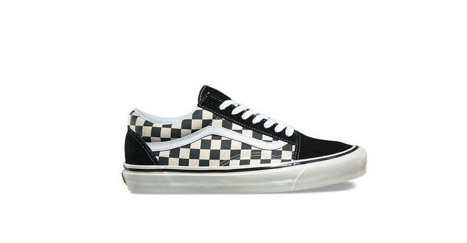 VANS DX  Old Skool 36 DX   black checker   VN0A38G2OAK