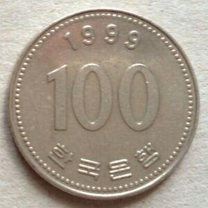 South Korea 1999 100 Won coin