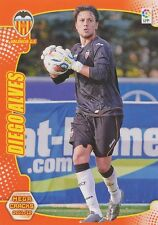 N°441 DIEGO ALVES # BRAZIL NUEVO VALENCIA.CF CARD PANINI MEGA CRACKS LIGA 2012