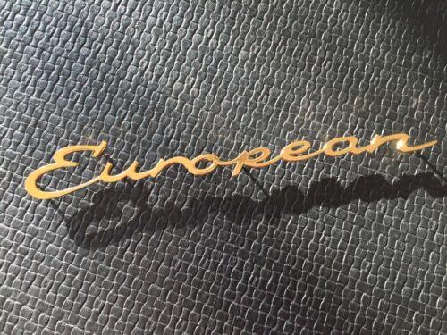 Genuíno Para Porsche 356 Europeu