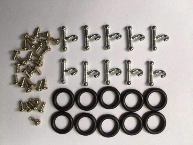 10 T Hook & O-Rings + 30x Screws for Gi Joe part accessory Repair part M818
