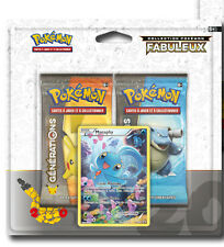 1 Duopack boosters Pokemon Generation Rouge & Bleue Manaphy neuf