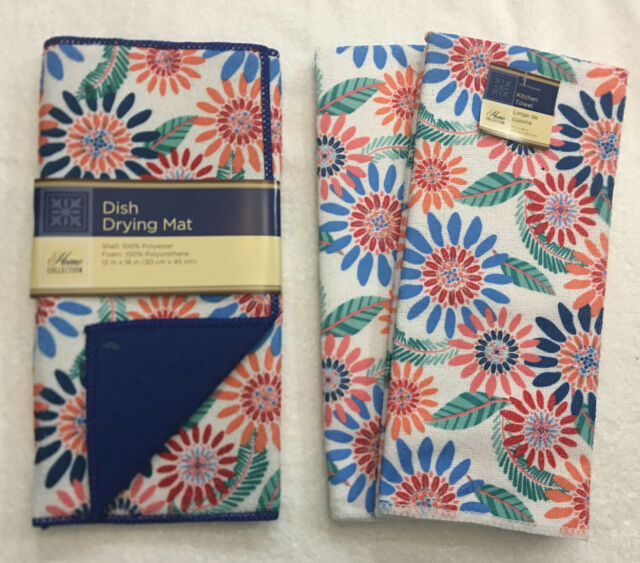 David Burke Bloomfield 2a Dbbf06 Bright Floral Kitchen Mat For Sale Online Ebay